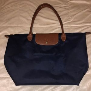 Long Champ Le Pliage Large Tote Bag